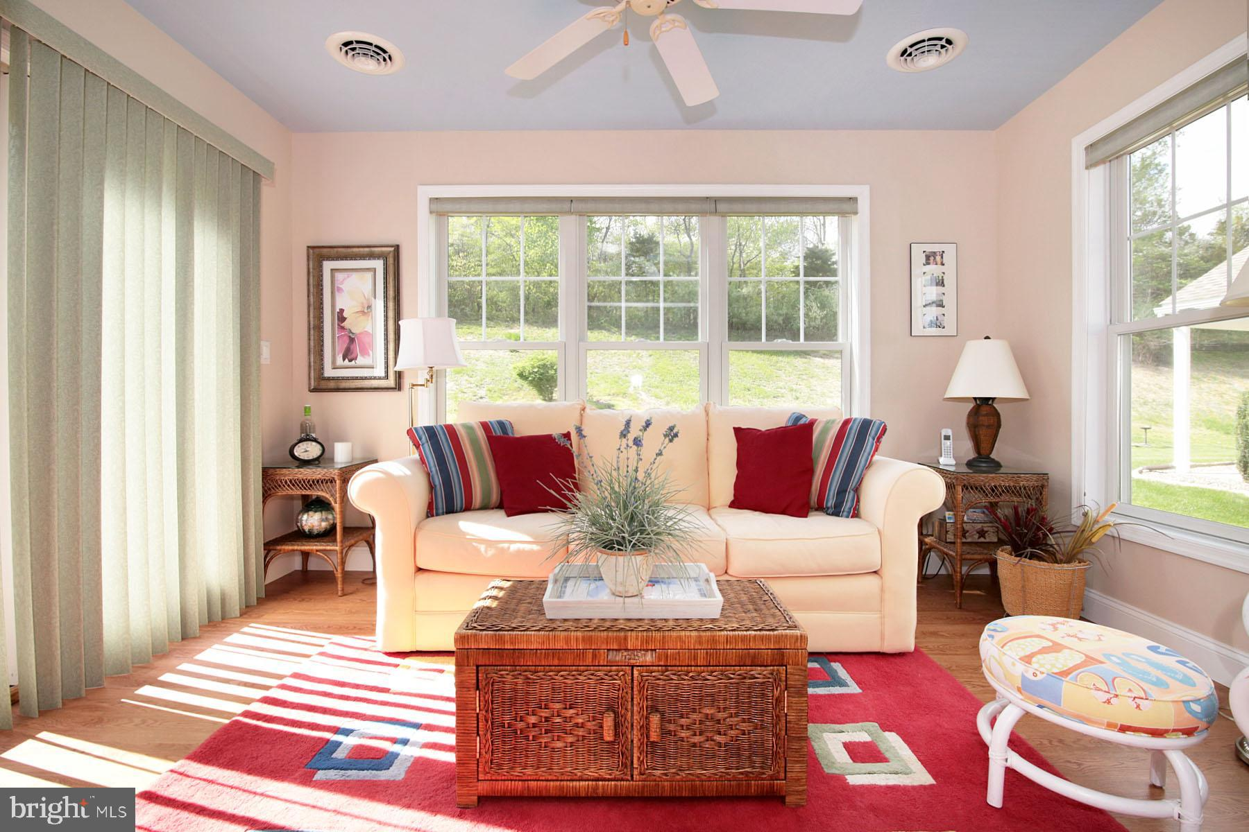 Inviting Sunroom air conditioned and heated