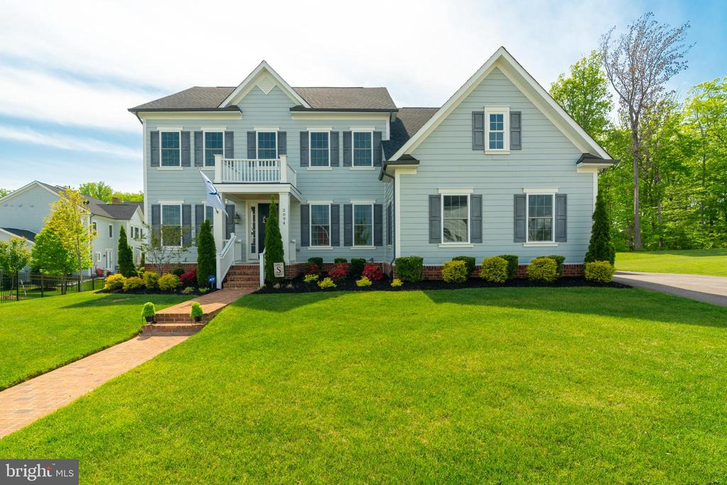 Located in Fairways Overlook-largest frontage lots - 2094 TWIN SIX LN, DUMFRIES