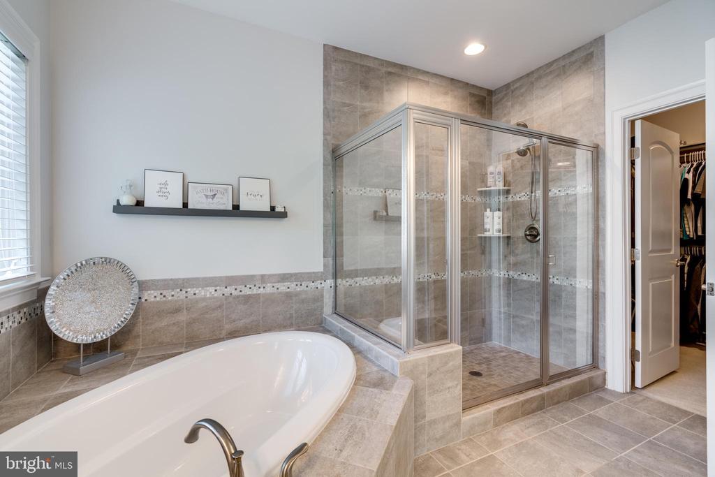 separate shower & large walk-in closet - 2094 TWIN SIX LN, DUMFRIES