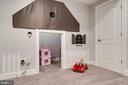 Playhouse nook under the stairs. How creative!! - 2094 TWIN SIX LN, DUMFRIES