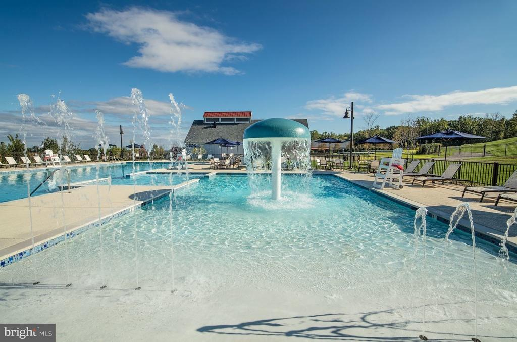 Community Recreation Pool: Zero Entry - 2094 TWIN SIX LN, DUMFRIES