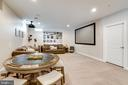 Projection & screen for movies - 2094 TWIN SIX LN, DUMFRIES