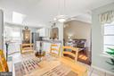 Breakfast room - 118 MONTICELLO CIR, LOCUST GROVE