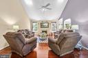 Beautiful family room! - 118 MONTICELLO CIR, LOCUST GROVE