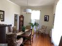 Plenty of guests can dine here. - 310 AMHERST ST, WINCHESTER