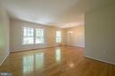 Living Room/Dining Room - 5605 STILLWATER CT, BURKE