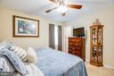Cooling ceiling fan in primary bedroom - 301 BURR DR, RUTHER GLEN
