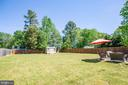 Fully fenced-in backyard that pets will love - 301 BURR DR, RUTHER GLEN