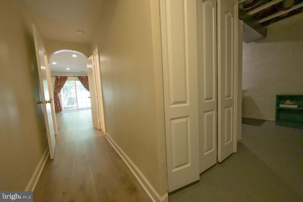 Basement Hallway - 5605 STILLWATER CT, BURKE