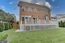 Backyard right side - 916 N CLEVELAND ST, ARLINGTON