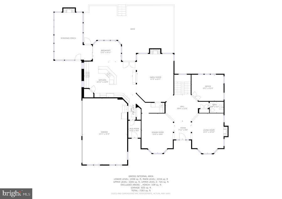 Main Level - 3701 MAPLE HILL RD, FAIRFAX