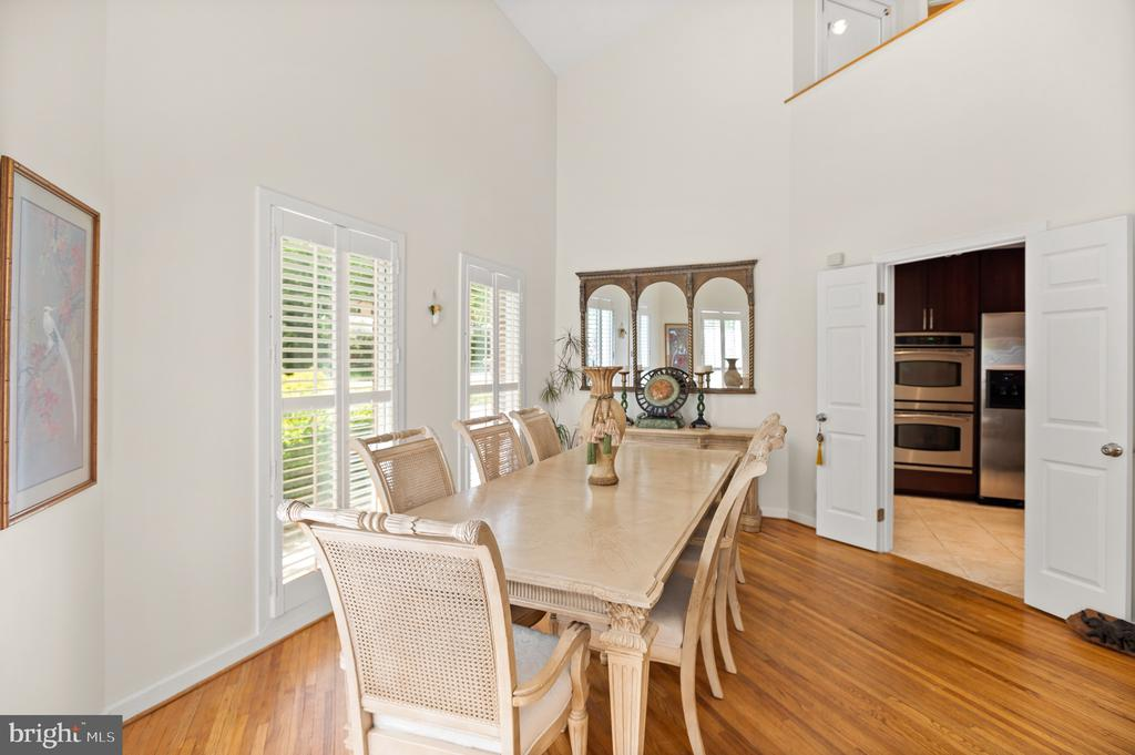 Dining Room - 8001 THORNLEY CT, BETHESDA