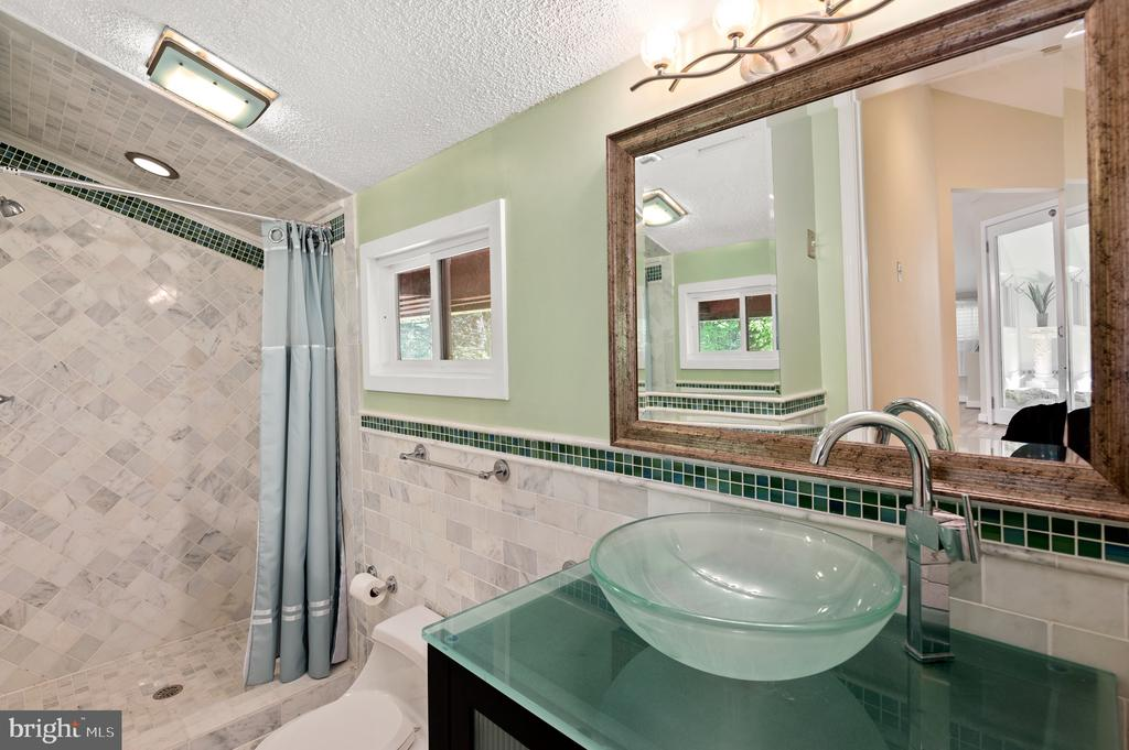 Second Owner's Bath - 8001 THORNLEY CT, BETHESDA