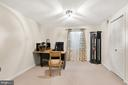 Fifth Bedroom/Second Office - 8001 THORNLEY CT, BETHESDA