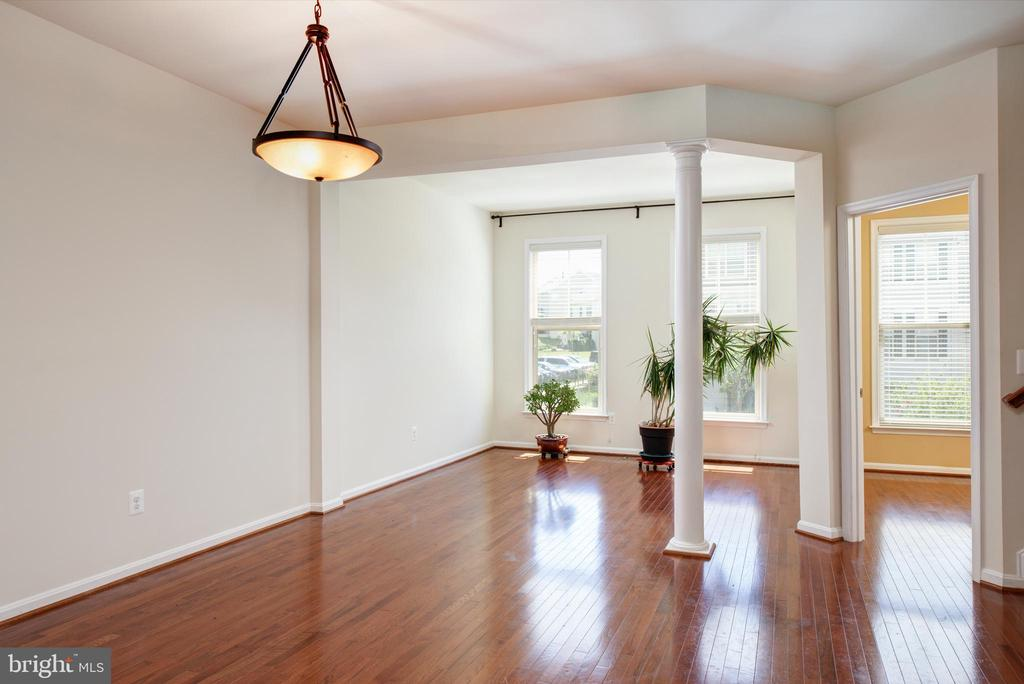 Combination Living Room and Dining Room - 42740 OGILVIE SQ, ASHBURN