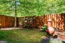 Patio with wood stove - 42740 OGILVIE SQ, ASHBURN