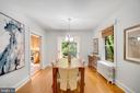 Dining Room - 3605 34TH ST NW, WASHINGTON
