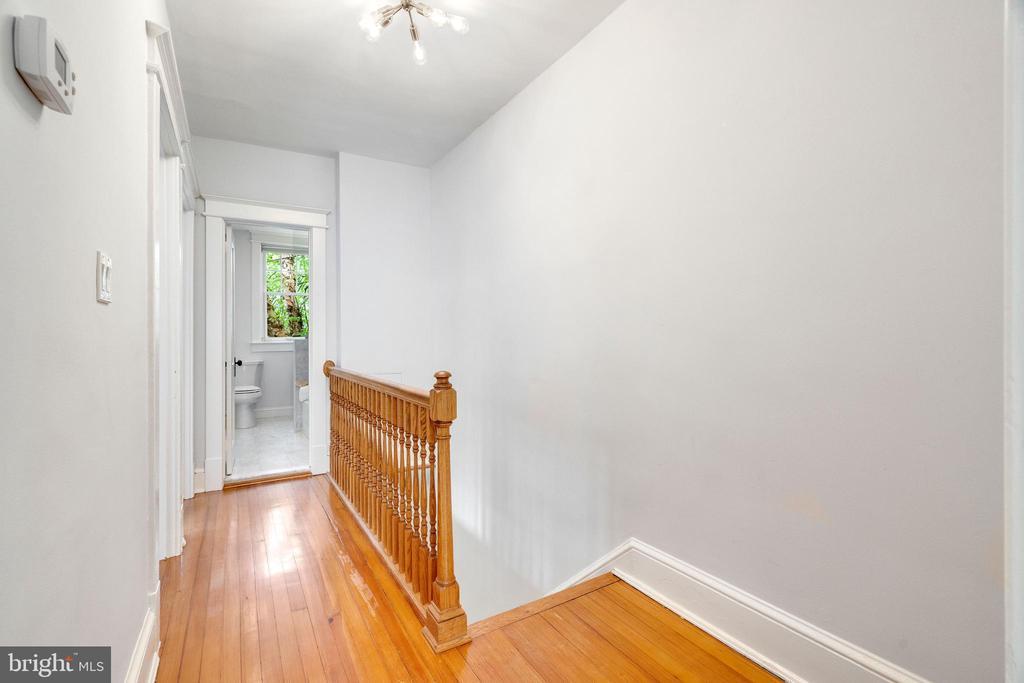 Upper Level Hall - 3605 34TH ST NW, WASHINGTON