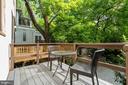 Rear Deck - 3605 34TH ST NW, WASHINGTON