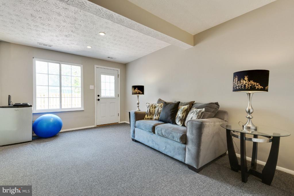 Very sunlit, walkout basement rec room - 12110 PURPLE SAGE CT, RESTON