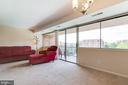 Living Room - 431 N ARMISTEAD ST #607, ALEXANDRIA