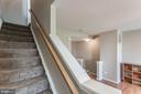 Stairs to third level. - 9818 MAITLAND LOOP, BRISTOW