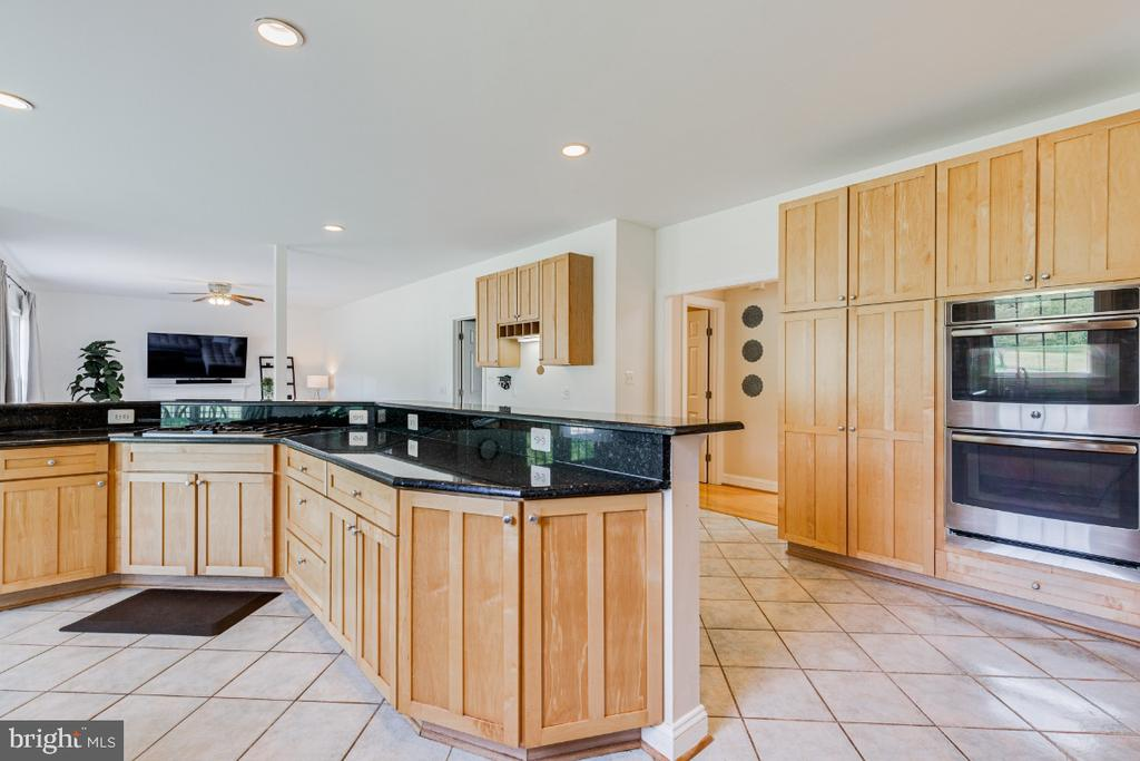 Chef's kitchen with SS appliances - 42308 GREEN MEADOW LN, LEESBURG