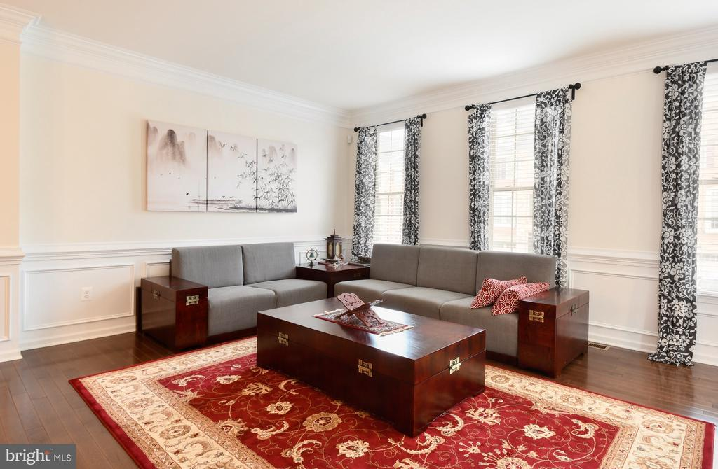 Spacious living room - 42615 LISBURN CHASE TER, CHANTILLY
