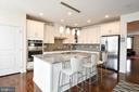 Expansive island - 42615 LISBURN CHASE TER, CHANTILLY