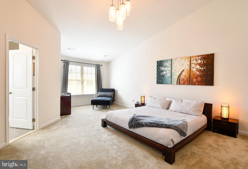 Master suite with sitting area - 42615 LISBURN CHASE TER, CHANTILLY