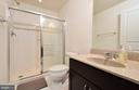 Third lower level bath - 42615 LISBURN CHASE TER, CHANTILLY