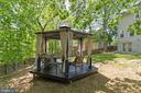 Tea under Gazebo - 10213 N HAMPTON LN, FREDERICKSBURG