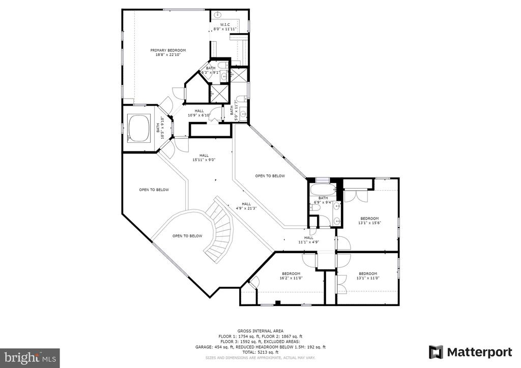 Floorplan - 8001 THORNLEY CT, BETHESDA