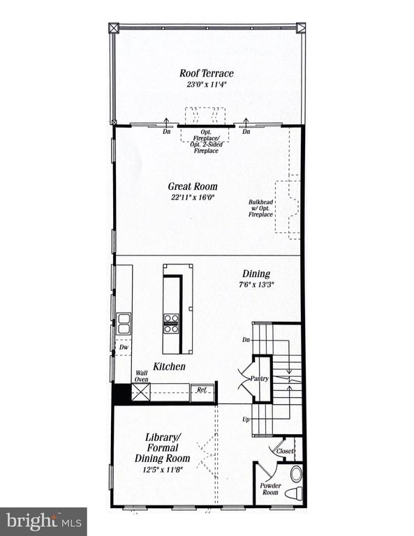 Main Level - 42238 PALLADIAN BLUE TER, BRAMBLETON
