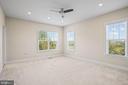 Third bedroom on upper level - 20585 STONE FOX CT, LEESBURG