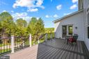 Brand new trex deck - 20585 STONE FOX CT, LEESBURG