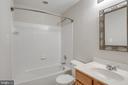 Lower Level Full Bath - 605 BURBERRY TER SE, LEESBURG