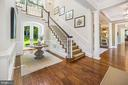 Foyer - 7301 DULANY DR, MCLEAN