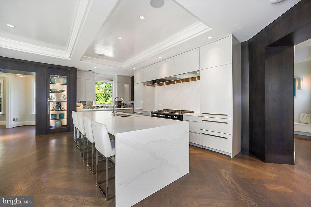 Gourmet Kitchen - 7301 DULANY DR, MCLEAN