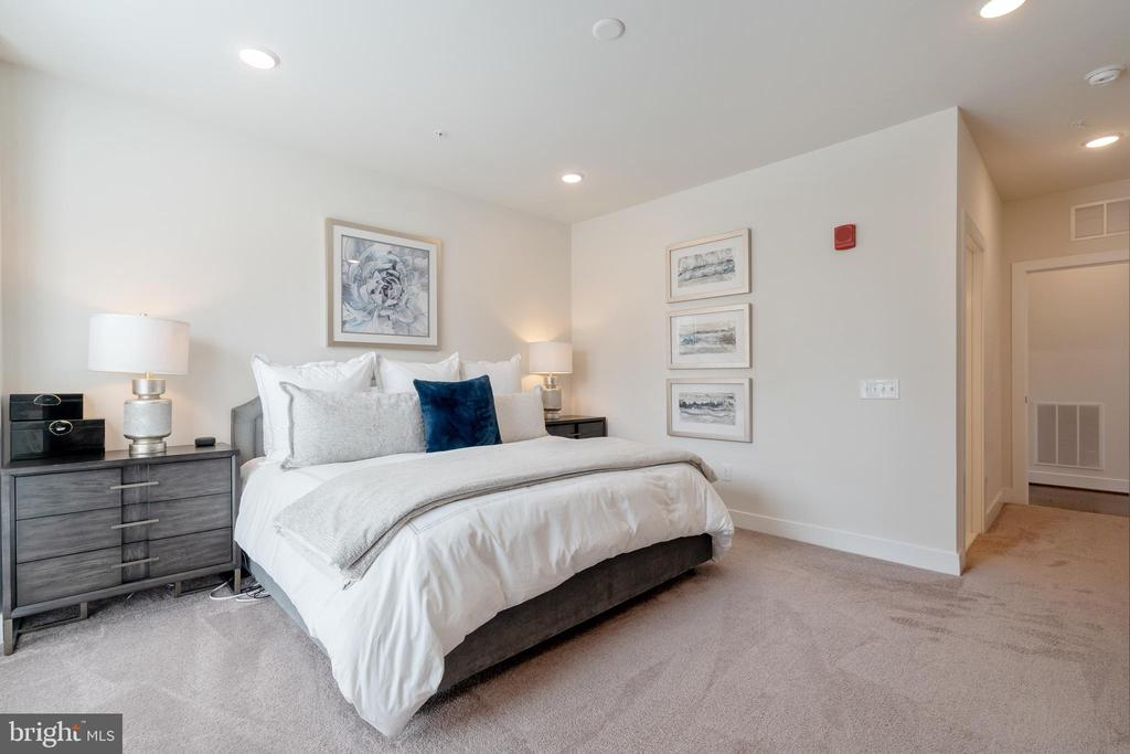 Alternate view of primary bedroom - 11200 RESTON STATION BLVD #301, RESTON