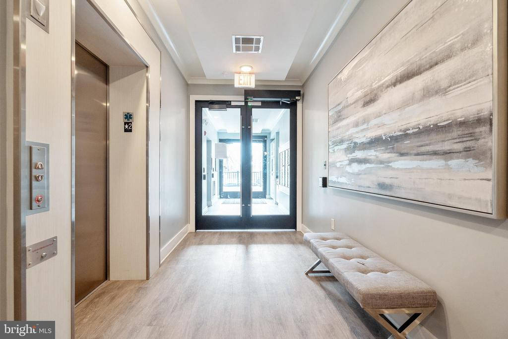 Building entry and elevators - 11200 RESTON STATION BLVD #301, RESTON