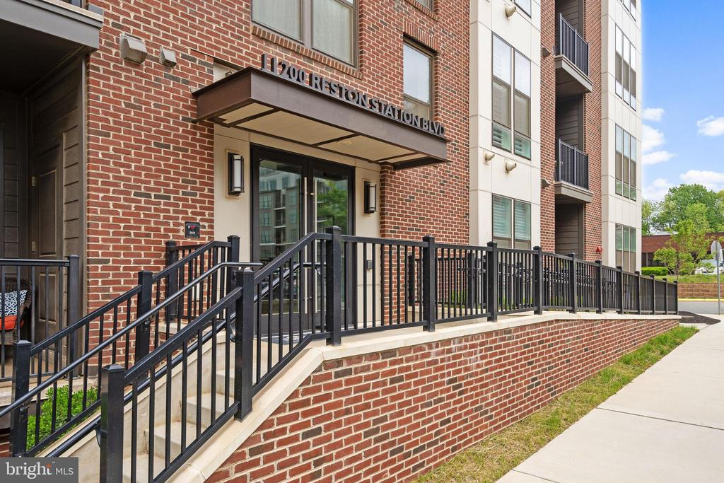 Entrance to the building-secure access - 11200 RESTON STATION BLVD #301, RESTON