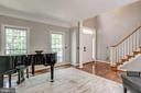 Living room with hardwood floors - 20894 LAUREL LEAF CT, ASHBURN