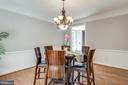 Dining room - 20894 LAUREL LEAF CT, ASHBURN