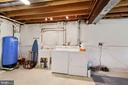 Washer & Dryer in basement - 17914 RAVEN ROCKS RD, BLUEMONT