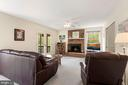 Family Room off the Kitchen - 17914 RAVEN ROCKS RD, BLUEMONT