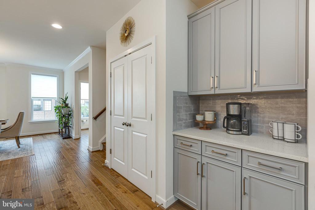 Butlers pantry / coffee bar / double door pantry! - 42280 IMPERVIOUS TER, BRAMBLETON