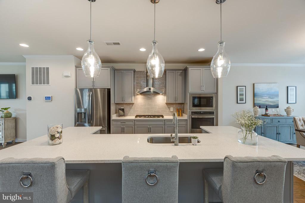 Grey cabinets! - 42280 IMPERVIOUS TER, BRAMBLETON