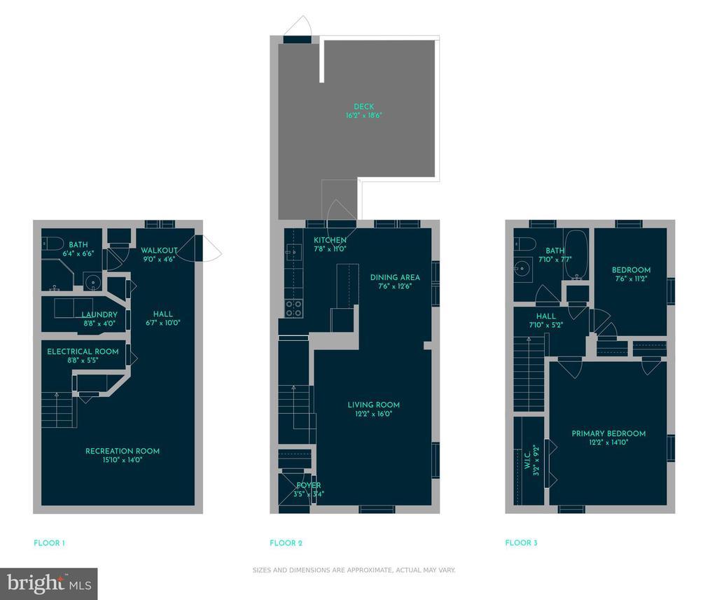 Floorplan - 3270 S UTAH ST, ARLINGTON