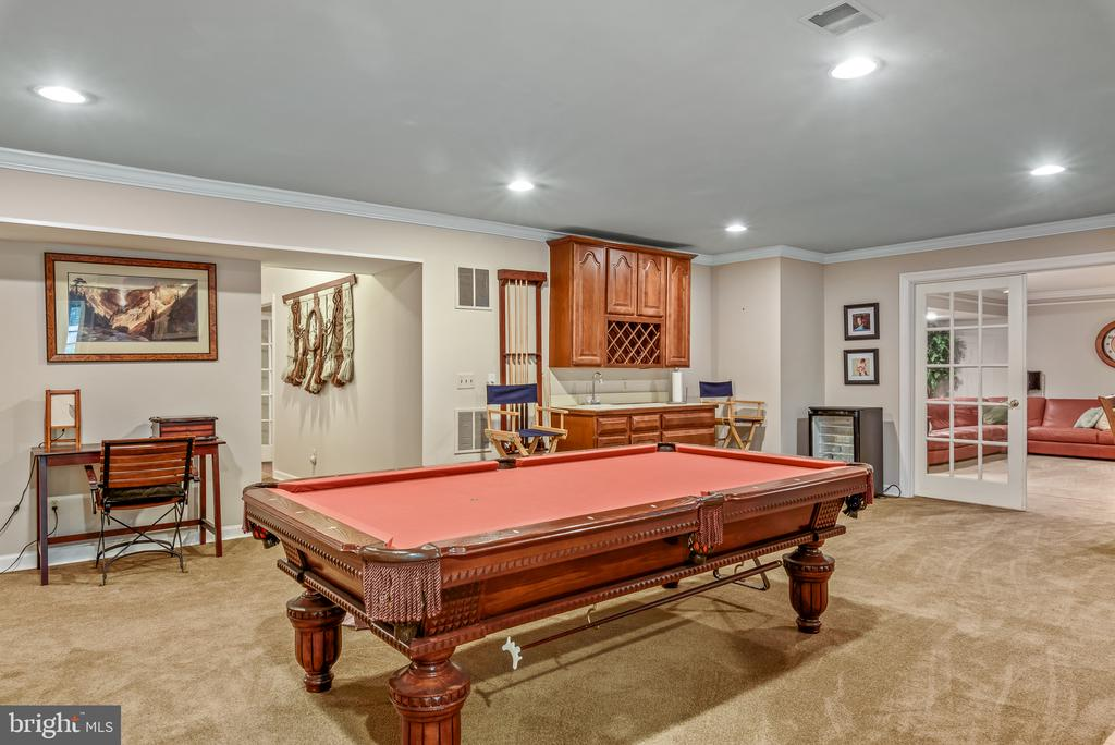 Rec Room with Wet Bar - 20441 WINFIELD PL, STERLING